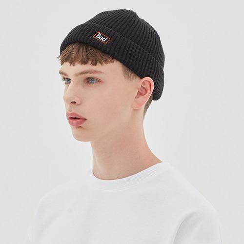 EXPRESS LOGO WATCH CAP_BLACK