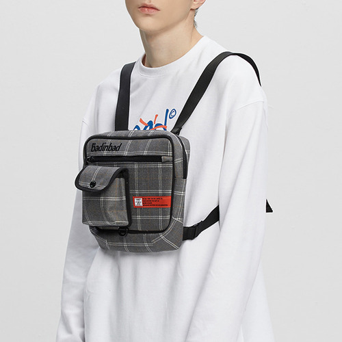 CHEST FRONT BAG_GREY