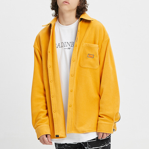 BAD FLEECE SHIRT_YELLOW