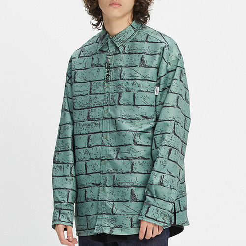 BRICK SHIRT_SAGE GREEN